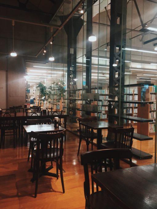 北区中央図書館カフェ